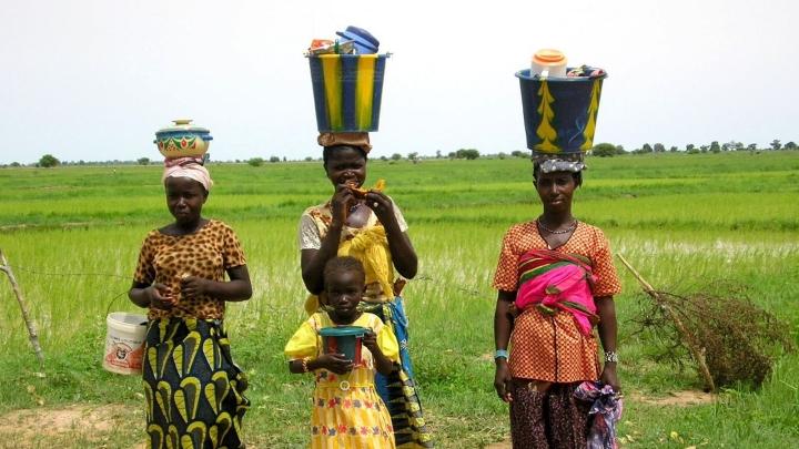 Portraits : Maliennes
