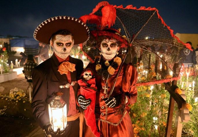 Halloween au Mexique
