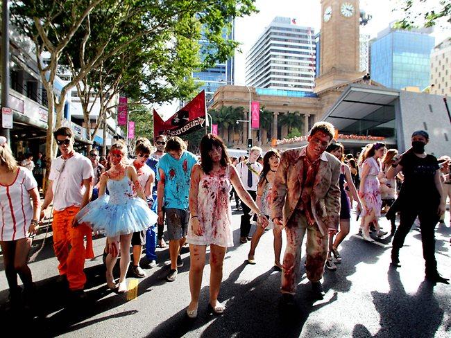 Halloween à Brisbane