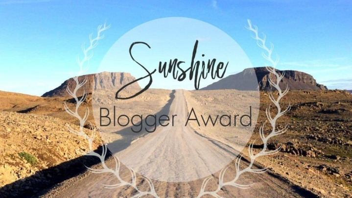 Nominée au Sunshine Blogger Awards !