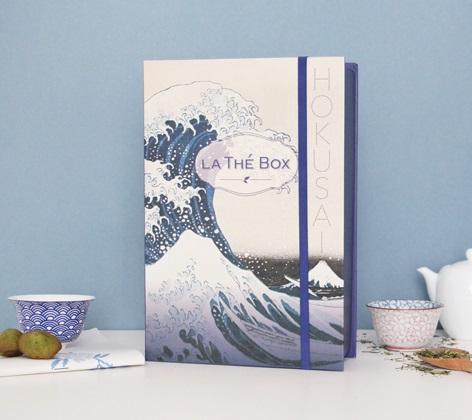 thé box hokusai japon