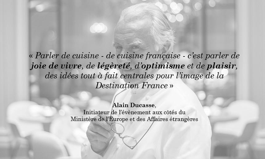 Citation Alain Ducasse