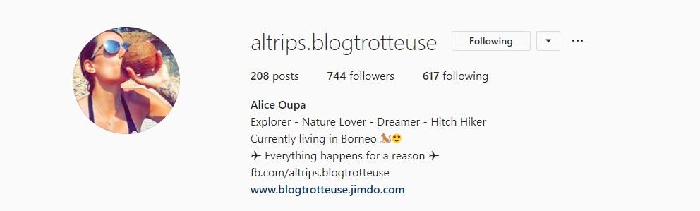Instagram Alice 1