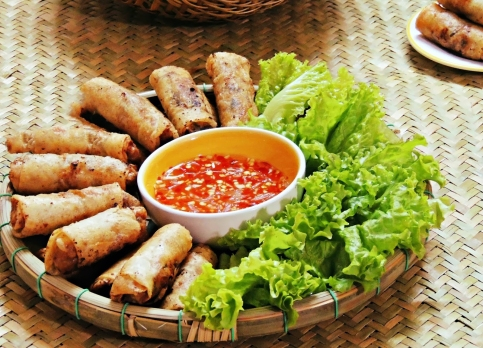 Nem rán (crédit : Vietnam Travel)