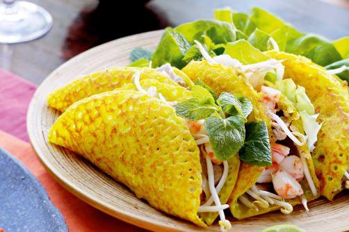 Bánh xèo (crédit : Vietnam Travel Information)