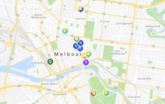 Mapstr Melbourne