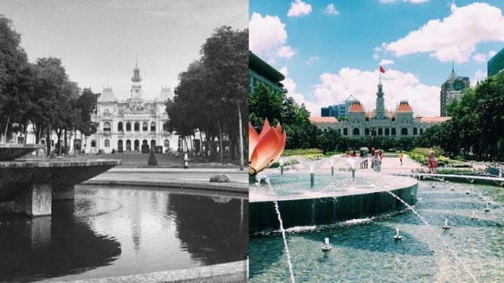 Avant/après : Saïgon en images de 1900 à2020